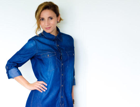 Denim dress_1